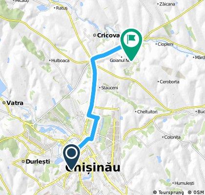 Chisinau- Mina de la Goian - Chisinau