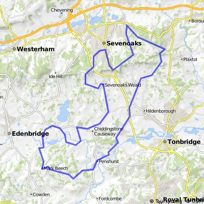 Kent Monarchy Route 2012