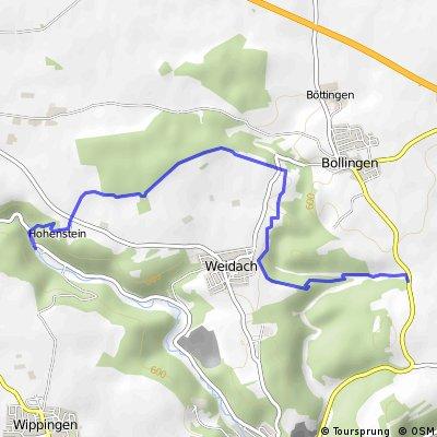Lautertal - Kiesental Wanderung