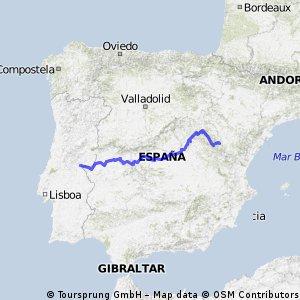 Camino Natural del Tajo GR 113 (Albarracín-Cedillo)