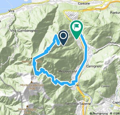Alpe Foppa - Monte Tamaro - Sigrino - Rivera PP
