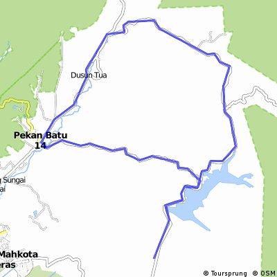Bt14 Bkt Hantu Tekala Dam Forest Reserve Bt18 Bt14