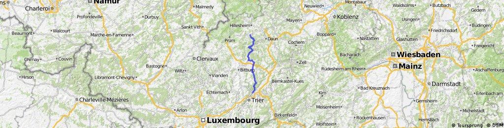 Gerolstein - Ehrang (Eifeltour)