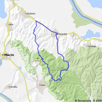 Vacareni - Luncavita - Cetatuia - Parc National Macin - Vacareni