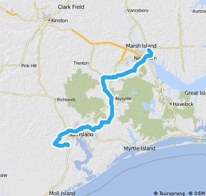 Day 9: New Burn to Jacksonville