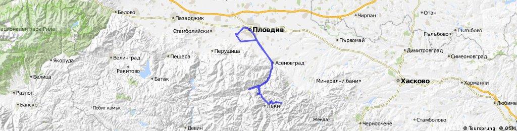 Пловдив-Кръстова Гора-Нареченски бани
