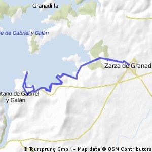 El Anillo - Zarza de Granadilla - El Anillo