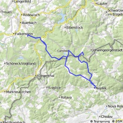 Beerheide - Kammweg bis Henneberg - Böhmen