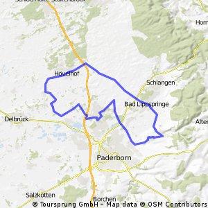 51 km Training - flach