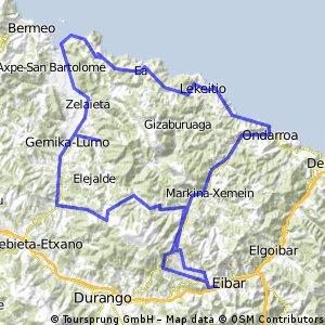 Gernika-Lumo + Balcon de Bizkaia