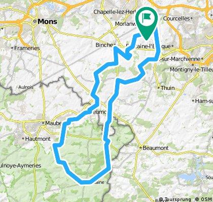 100 km - Carnières - Thure - Carnières