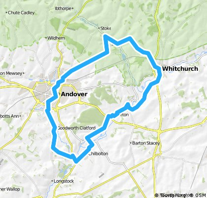 Whitchurch Jubilee 2012 Cycle Route
