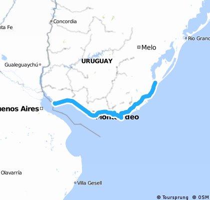 Cicloturismo Chuy á Buenos Aires