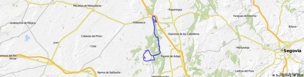 VII Ciclomarcha Montaña Vazquez Palomo - 21/10/2012 Arévalo