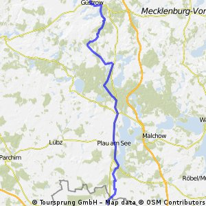 Güstrow - Meyenburg