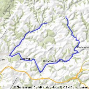 Wallhalben-Mühlenweg-Contwig-Winterbach