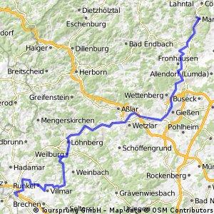 1997 Lahnradweg Marburg-Limburg