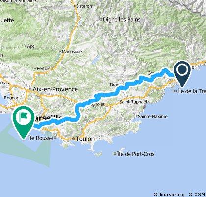 Etappe 05 Tour de France 2013 von Cagnes-sur-Mer nach Marseille