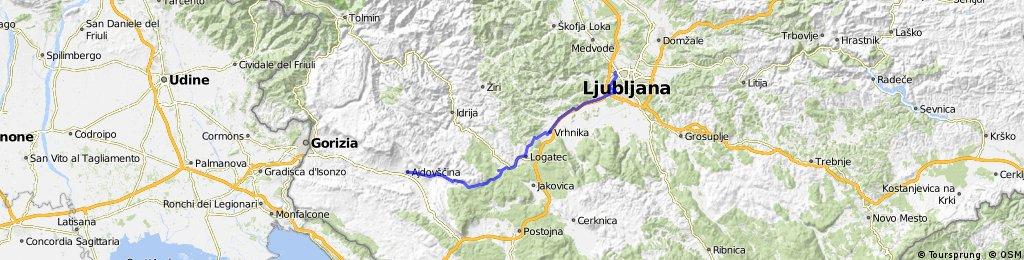Ljubljana Šiška - Ajdovščina