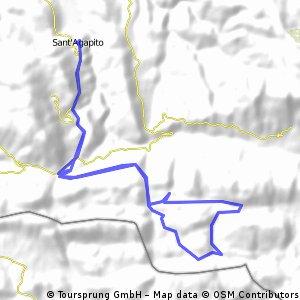 Giro cicloturistico Matese versante Nord-Ovest (giro corto)