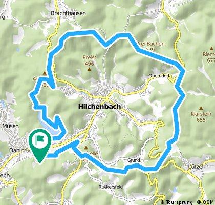 Hilchenbach Panoramaweg.