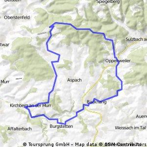 Murrtal - Aspacher Weinberge