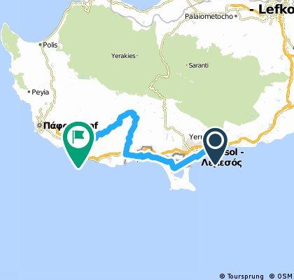 K1 Tri - Tour of Cyprus 2012 Day 3
