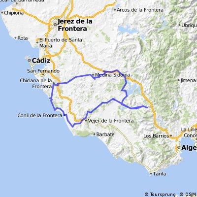 Weg nach Gibraltar
