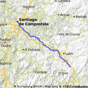 Ruta 9 Dozon - Santiago 73,375