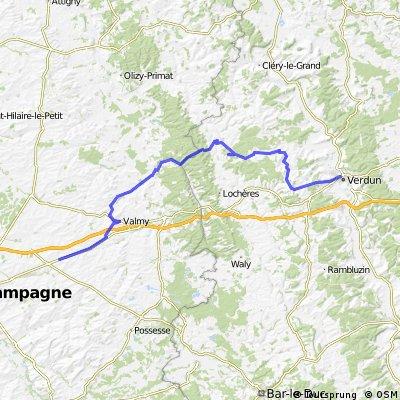 Friedensradfahrt 2009 Paris - Moskau 4. Etappe Tilloy-et-Bellay - Verdun am 8. Juli 2009