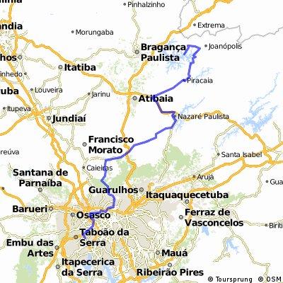 Portal-do-Morumbi para Joanopolis via Santa Inês.
