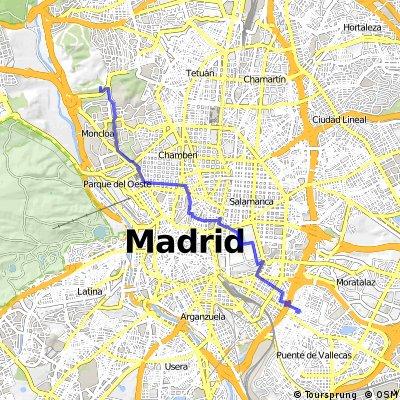 Monte Urgull-Instituto RTVE (ruta tranquila)