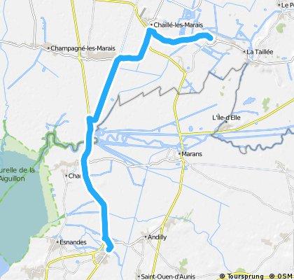 déviation Marans via Vouillé