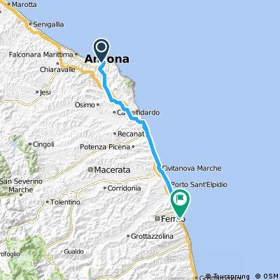2012 - Adria Nord-Süd - 4. Tag - Ancona - Porto San Giorgio
