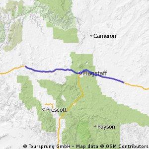 US Route E4: Seligman - Winslow