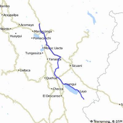 Vom Titicacasee nach Machu Picchu Tag6