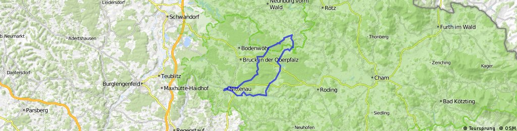 Nittenau - Neukirchen Balbini - Nittenau