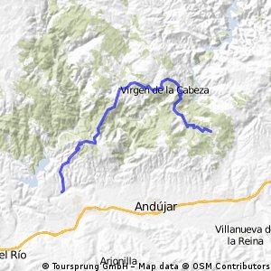 Viñas Peñallana (Los Pinos) _ Santuario Virgen Cabeza _ Balneario Marmolejo