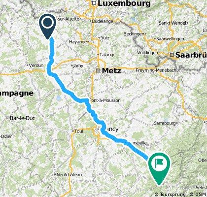 Tour de France V2 E8: Longuyon - Raon l'Etape