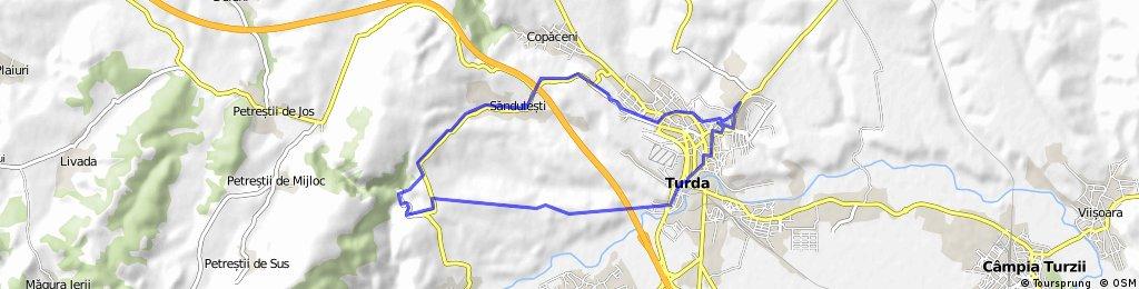 Cheile Turzii prin Sandulesti