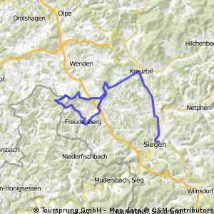 Freudenberg - Kreuztal - Siegen