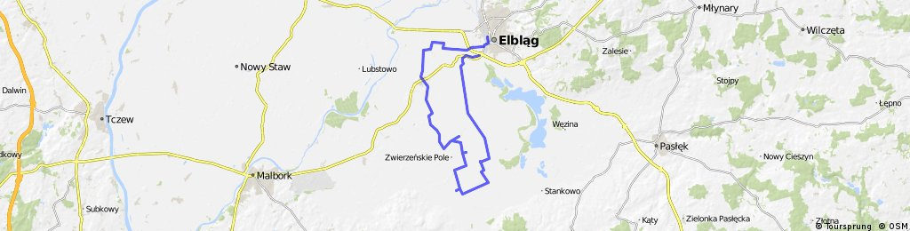 GPS - Wycieczka Nr 30/2012 - Szlakiem Mennonitów - 21 października