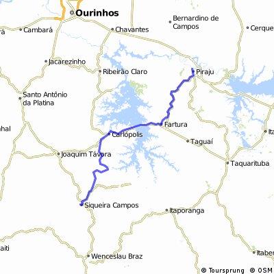 Siqueira Campos - Piraju