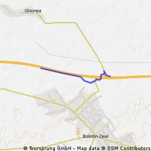 route to CAT Romania