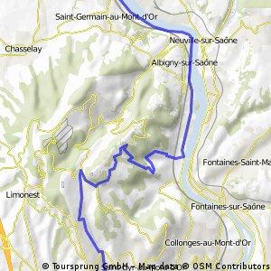 St Germain - Mont Thoux - St Didier