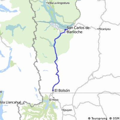 San Carlos de Bariloche/ruta nacional 40/El Bolsón