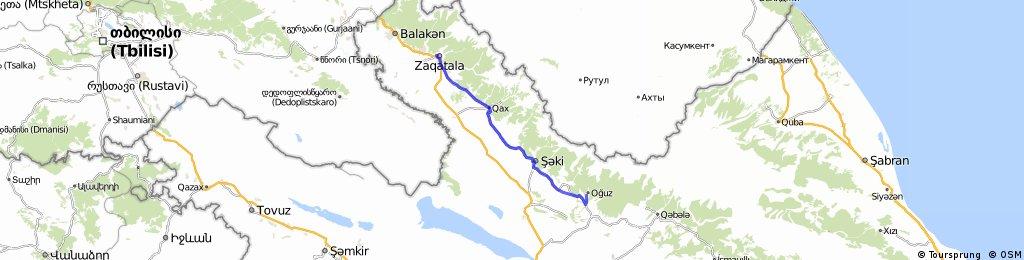 Zaqatala-Oguz