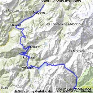 2012-08-12 Demi Quartier-Col De Saises-Col Du Pre-Cormet De Roselend-Bourg St.Maurice