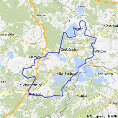 Sonntagsausfahrt August 2012 – Lausitzer Seen