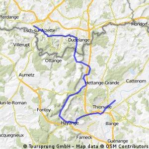 Esch-sur-Alzette - Thionville (TTT)